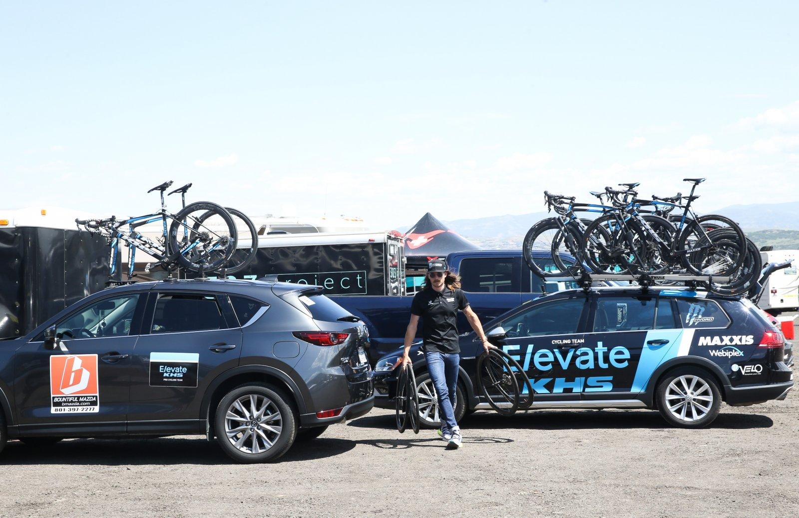 Elevate-KHS sets up for Stage 5.
