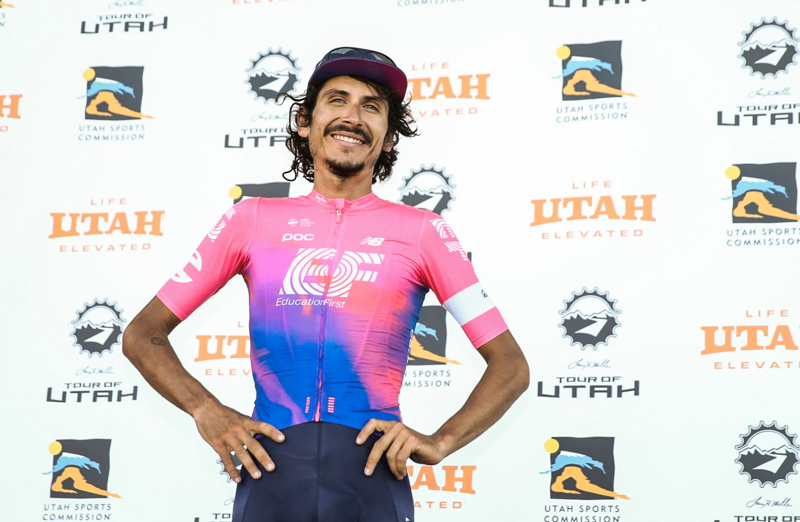 Stage 5 winner: Lachlan Morton (EF Education First)