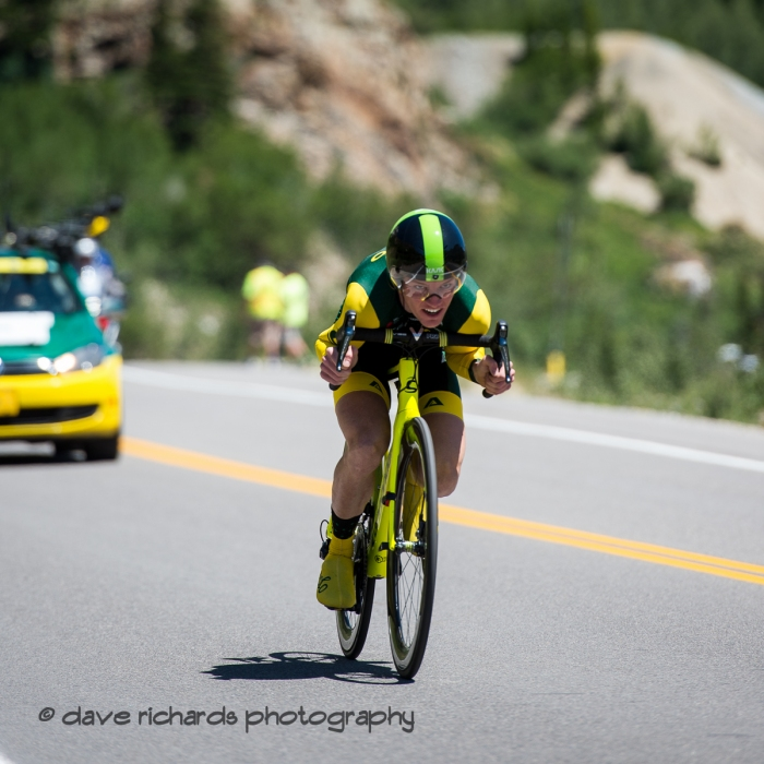 Focused! Prologue at Snowbird, 2019 LHM Tour of Utah (Photo by Dave Richards, daverphoto.com)