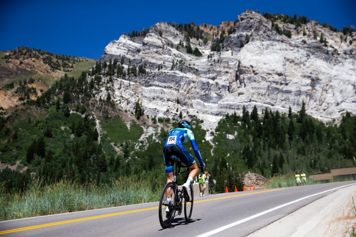 Rider rides towards Hellgate. Photo Cathy Fegan-Kim