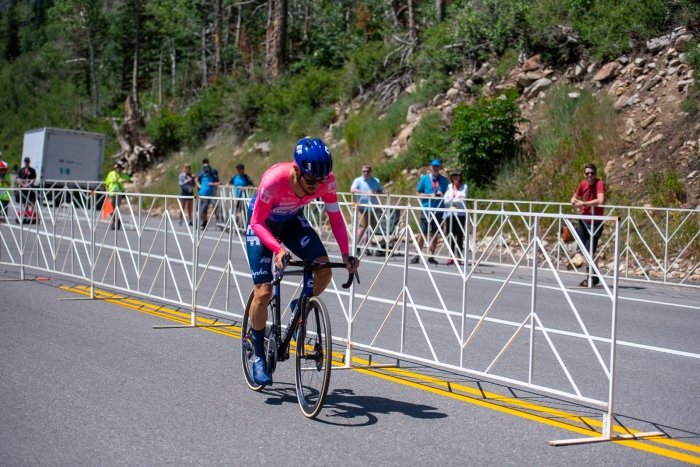Alex Howes (EF Education First) during the Prologue time trial. 2019 Tour of Utah. Photo by Steven L. Sheffield