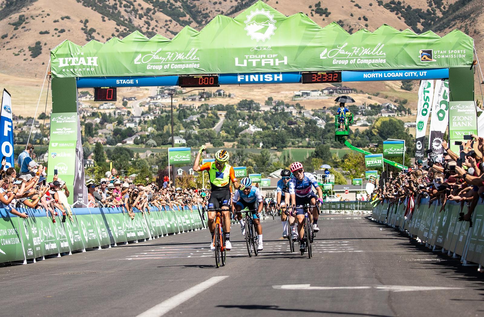 Umberto Marengo (Neri Sottoli Selle Italia KTM) takes Stage 1. Photo: Cathy Fegan-Kim