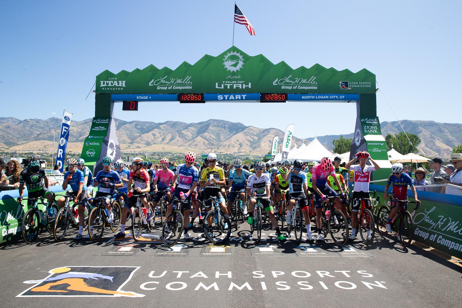 2019 Tour of Utah Stage 1. Photo: Cathy Fegan-Kim