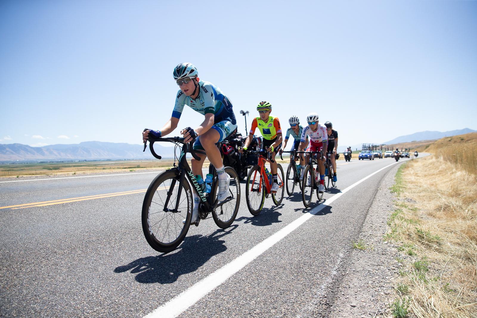 The breakaway. Stage 1 Tour of Utah. Photo: Cathy Fegan-Kim