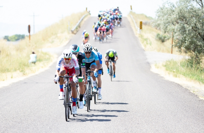 Another attack. Stage 2, 2019 Tour of Utah. Photo by Cathy Fegan-Kim