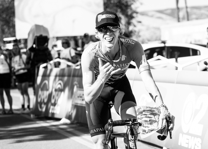 TJ Eisenhart. Stage 4, 2019 Tour of Utah. Photo by Cathy Fegan-Kim