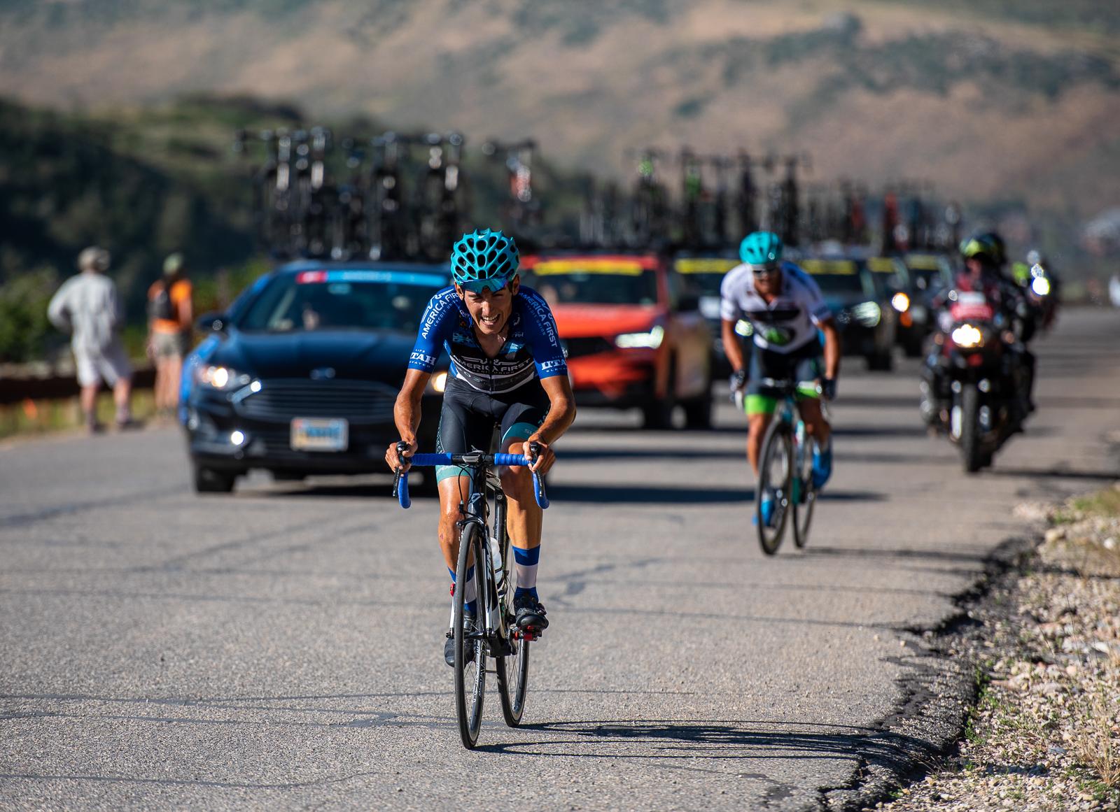 Fan Favorite Bernat Font Mas (303 Project) Stage 5, 2019 Tour of Utah. Photo by Steven L. Sheffield