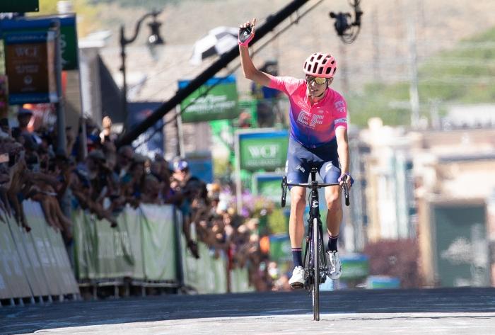 Joe Dombrowski (EF Education First) wins Stage 6.