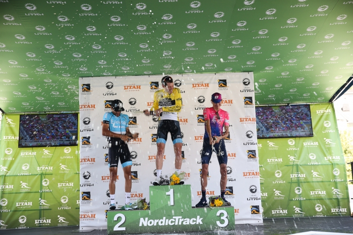 Your 2019 Tour of Utah podium