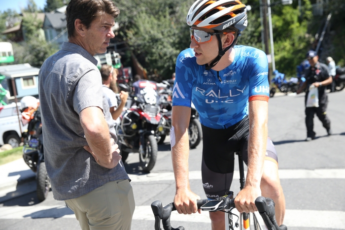 Former pro  and Tour Tracker commentator Frankie Andreu chats with Kyle Murphy of Rally UHC.