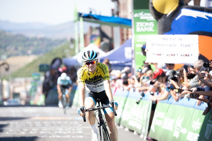 Ben Hermans (Israel Cycling Academy) finishes 4th and secures his GC win at the 2019 Tour of Utah.