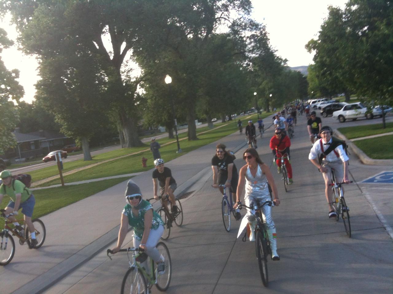 Salt Lake Bike Party June 2013