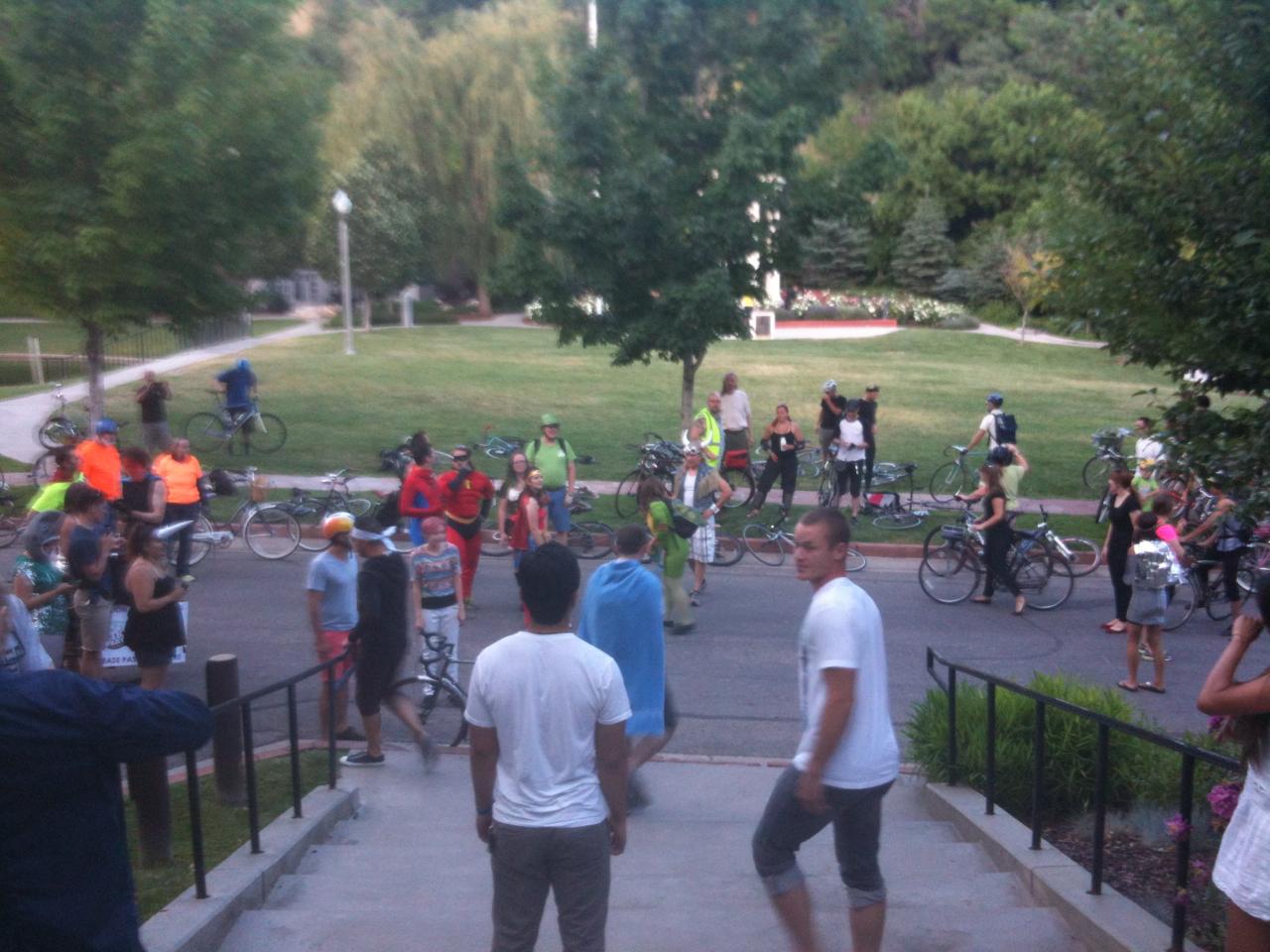 Salt Lake Bike Party June 2013 43