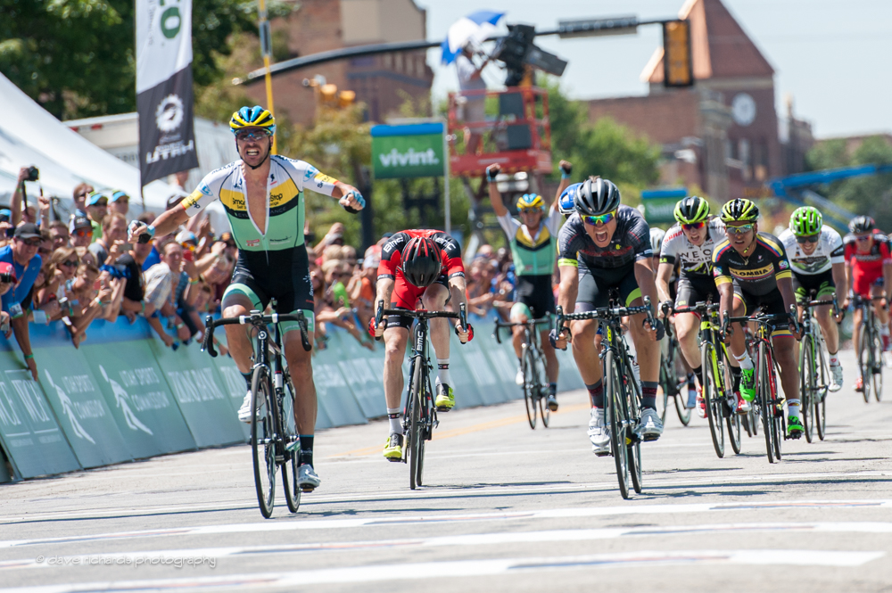 Jure Kocjan wins stage 2 of the 2015 Tour of Utah