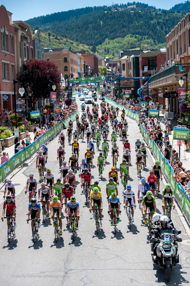 2015 Tour of Utah Stage 7 Start