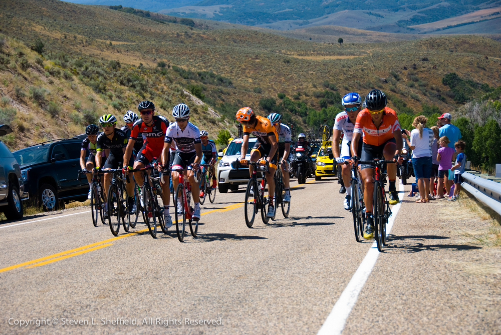 2016 Tour of Utah Stage 6. Photo by Steven Sheffield, flahute.com