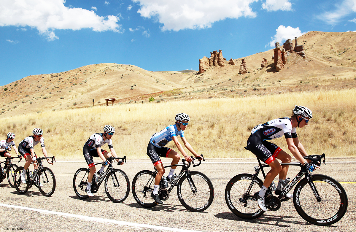 Axeon protects best young rider Adrien Costa in Stage 6 of the 2016 Tour of Utah, photo by Cathy Fegan-Kim, cottonsoxphotography.com