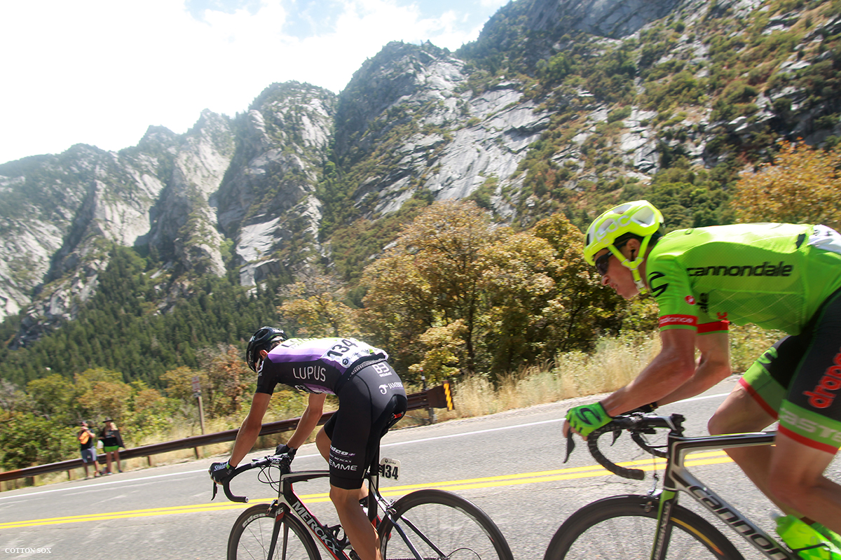 Nicolae Tanovitchii in  Stage 6 of the 2016 Tour of Utah, photo by Cathy Fegan-Kim, cottonsoxphotography.com