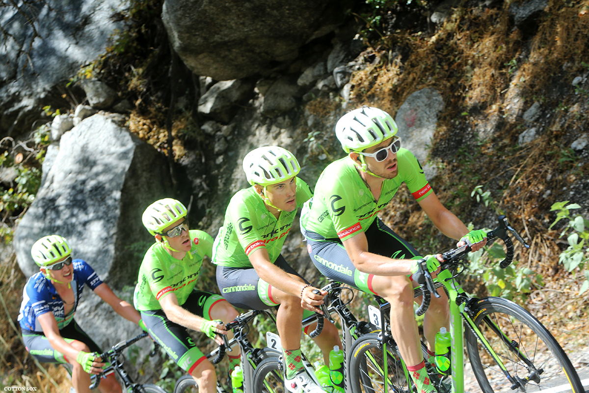 Cannondale Drapac on the front in Stage 6 of the 2016 Tour of Utah, photo by Cathy Fegan-Kim, cottonsoxphotography.com
