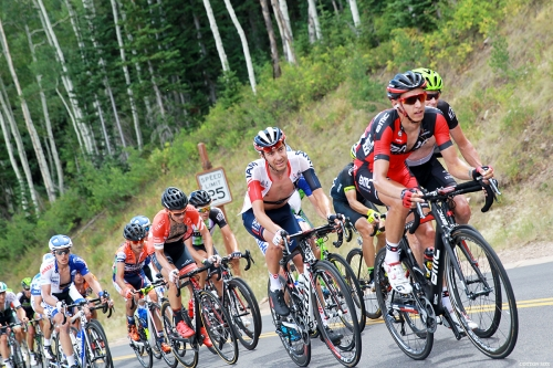 Climbing! Stage 6 of the 2016 Tour of Utah, photo by Cathy Fegan-Kim, cottonsoxphotography.com