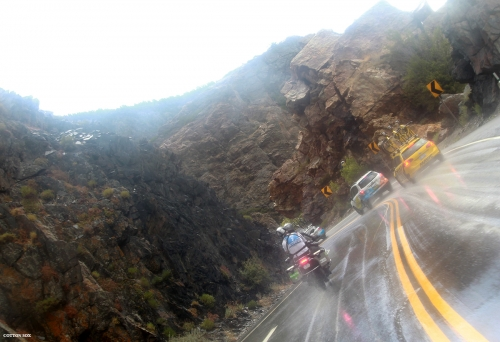 The Notch in Big Cottonwood Canyon in Stage 6 of the 2016 Tour of Utah, photo by Cathy Fegan-Kim, cottonsoxphotography.com