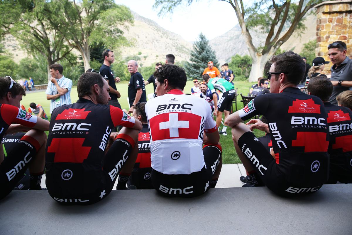 BMC is ready to race. Photo: Catherine Fegan-Kim