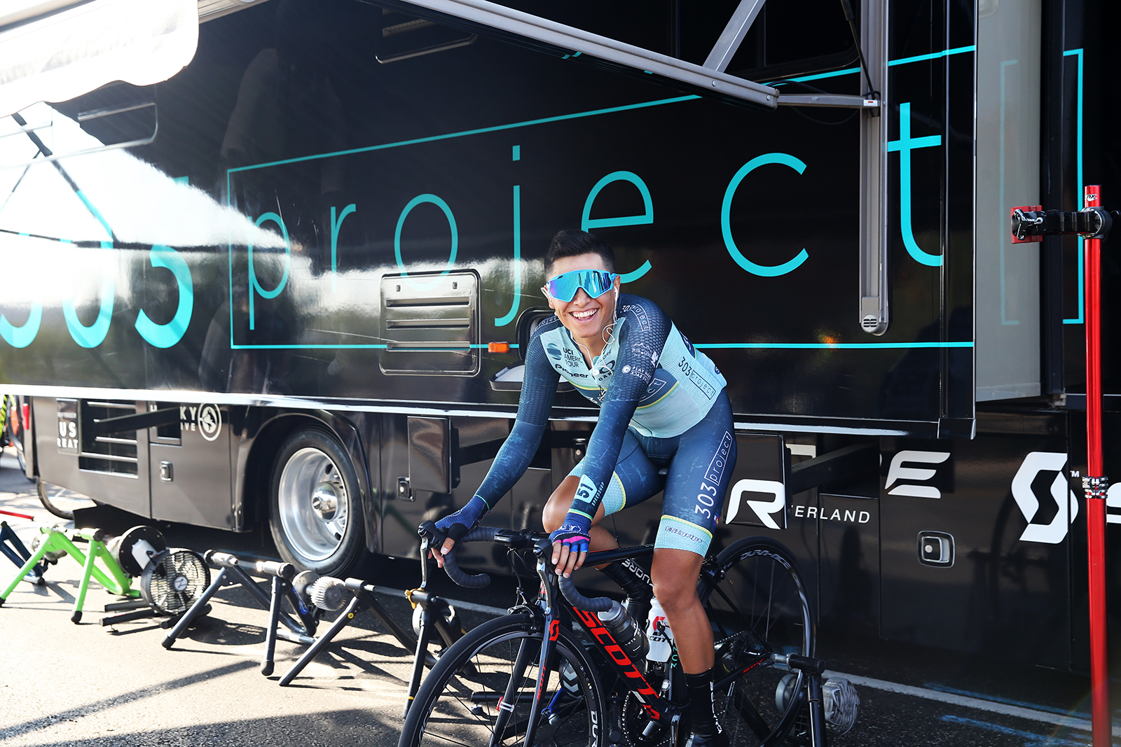 303 Project.  2018 Tour of Utah Team Prologue, August 6, 2018, St. George, Utah. Photo by Cathy Fegan-Kim, cottonsoxphotography.net