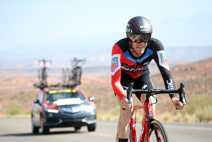 Bookwalter, BMC. 2018 Tour of Utah Team Prologue, August 6, 2018, St. George, Utah. Photo by Cathy Fegan-Kim, cottonsoxphotography.net