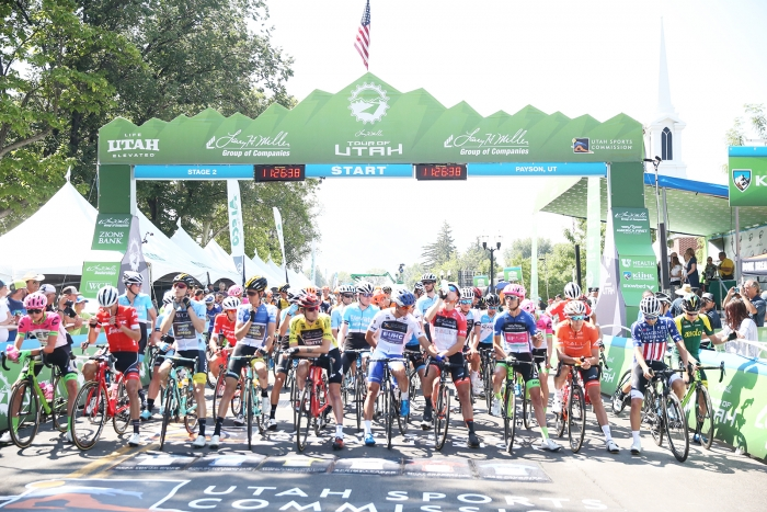 Stage 3, Tour of Utah. 2018 Tour of Utah Stage 2, August 8, 2018, Payson, Utah. Photo by Cathy Fegan-Kim, cottonsoxphotography.net