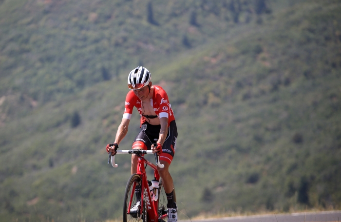 Sufferfest. 2018 Tour of Utah Stage 2, August 8, 2018, Payson, Utah. Photo by Cathy Fegan-Kim, cottonsoxphotography.net