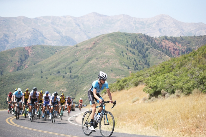 Nebo. 2018 Tour of Utah Stage 2, August 8, 2018, Payson, Utah. Photo by Cathy Fegan-Kim, cottonsoxphotography.net