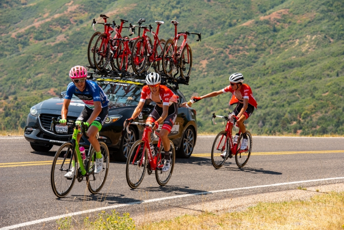 On Mt. Nebo. 2018 Tour of Utah Stage 2, August 8, 2018, Payson, Utah. Photo by Steve Sheffield, flahute.com