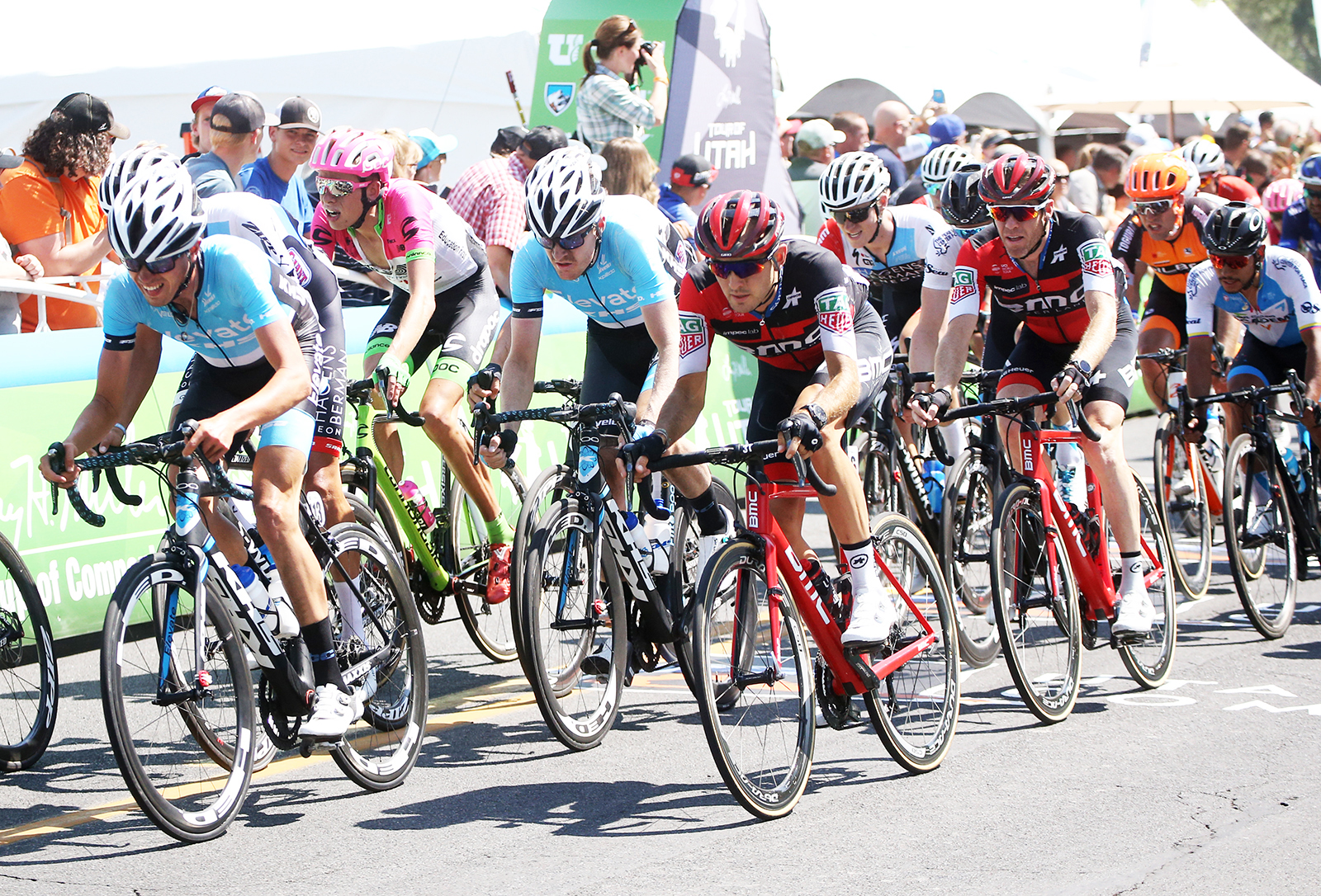 Stage 3. 2018 Tour of Utah Stage 3, August 8, 2018, Layton, Utah. Photo by Cathy Fegan-Kim, cottonsoxphotography.net