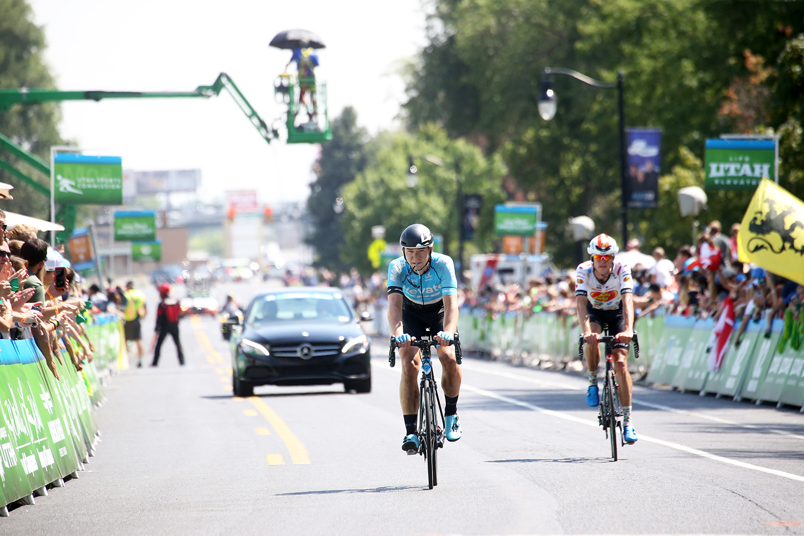 Done... 2018 Tour of Utah Stage 3, August 8, 2018, Layton, Utah. Photo by Cathy Fegan-Kim, cottonsoxphotography.net