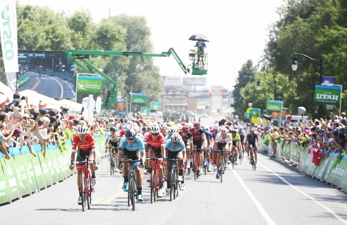 3 to go… 2018 Tour of Utah Stage 3, August 8, 2018, Layton, Utah. Photo by Cathy Fegan-Kim, cottonsoxphotography.net