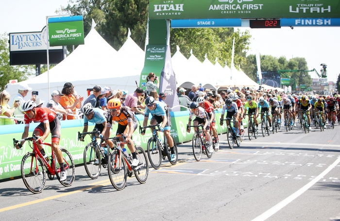 Stage 3, Tour of Utah. 2018 Tour of Utah Stage 3, August 8, 2018, Layton, Utah. Photo by Cathy Fegan-Kim, cottonsoxphotography.net