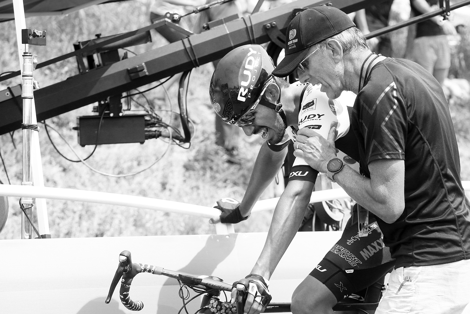 Exhauasted. 2018 Tour of Utah Stage 4, August 8, 2018, Salt Lake City, Utah. Photo by Cathy Fegan-Kim, cottonsoxphotography.net