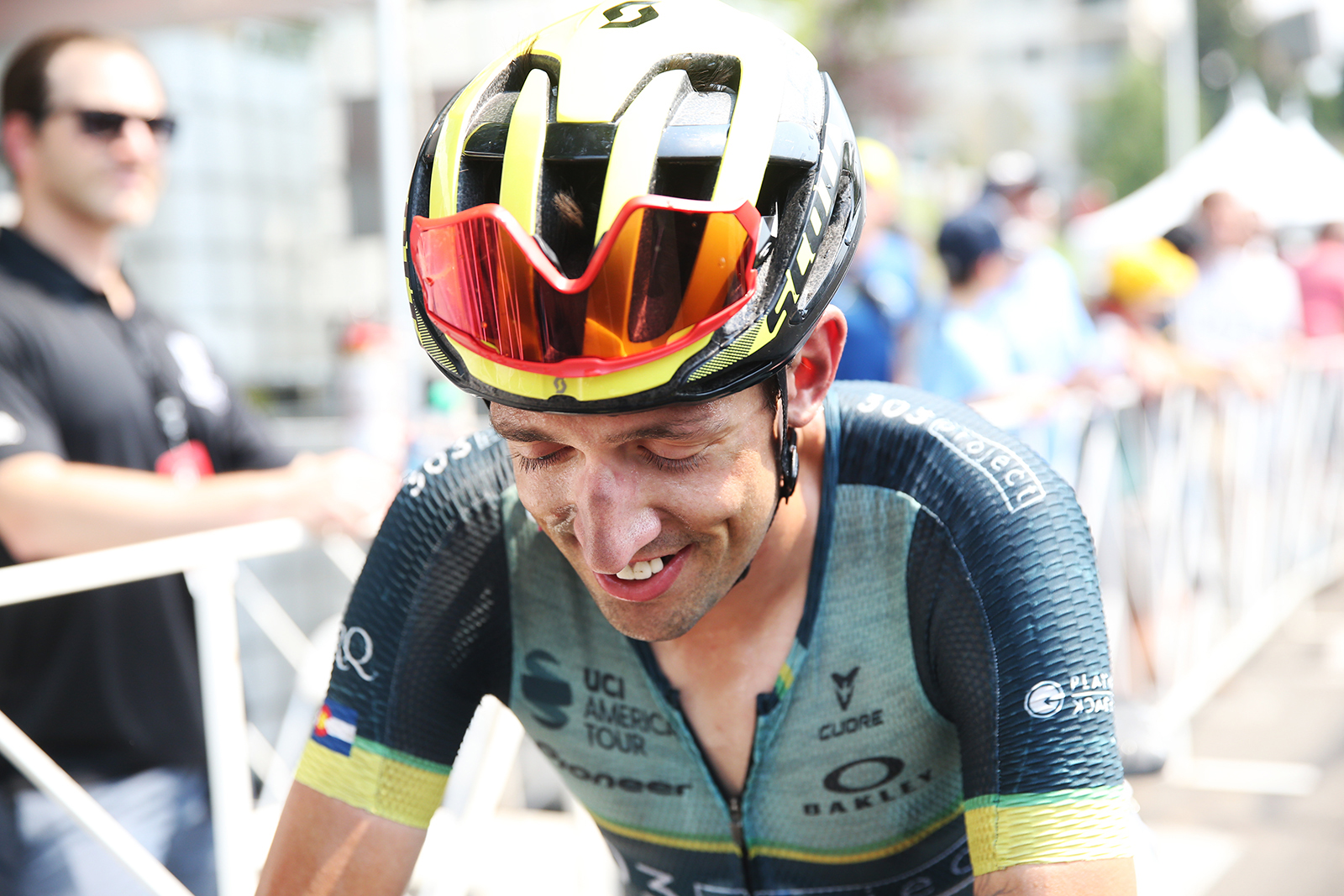 303 Project. 2018 Tour of Utah Stage 4, August 8, 2018, Salt Lake City, Utah. Photo by Cathy Fegan-Kim, cottonsoxphotography.net