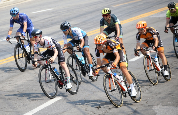 ToU Stage 4 Circuit Race. 2018 Tour of Utah Stage 4, August 8, 2018, Salt Lake City, Utah. Photo by Cathy Fegan-Kim, cottonsoxphotography.net