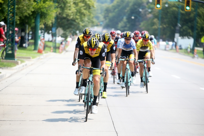 LottonNL-Jumbo. 2018 Tour of Utah Stage 4, August 8, 2018, Salt Lake City, Utah. Photo by Cathy Fegan-Kim, cottonsoxphotography.net