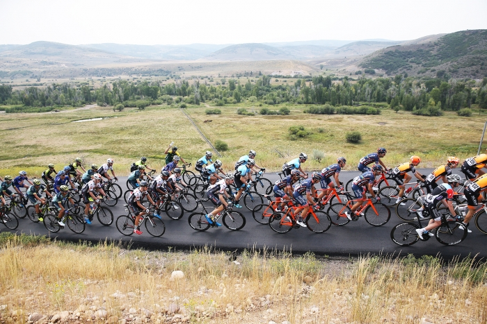Park City, Utah. Stage 5 of the 2018 Tour of Utah, August 10, 2018. Photo by Cathy Fegan-Kim, www.cottonsoxphotography.net