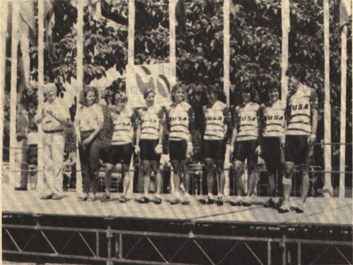 Recollections of the 1988 Women's Tour de France Feminin