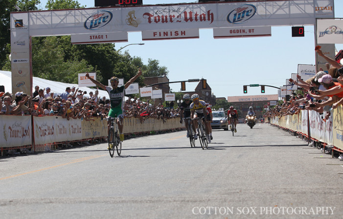 Bicycle Stage Race Strategy for the Spectator of the Tour of Utah
