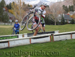 Bingham flies over the barriers. Photo: Ryan Hamilton