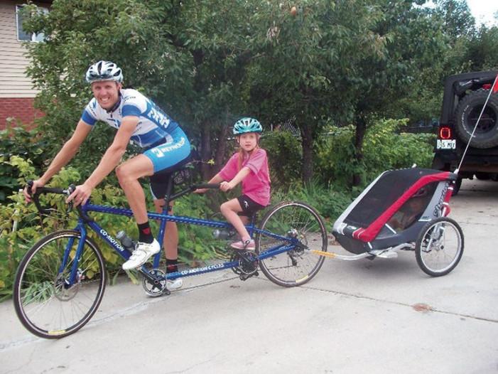 Raising Bike Friendly Kids Part 1: The Trailer Years