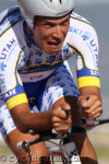 Rubens Bertogliati (Team Type 1) shows the pain face. Photo: Dave Iltis