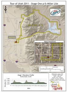 Tour of Utah 2011 Stage 1