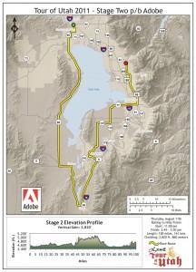Tour of Utah 2011 Stage 2