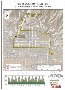 Tour of Utah 2011 Stage 4