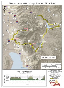 Tour of Utah Stage 2011 Stage 5